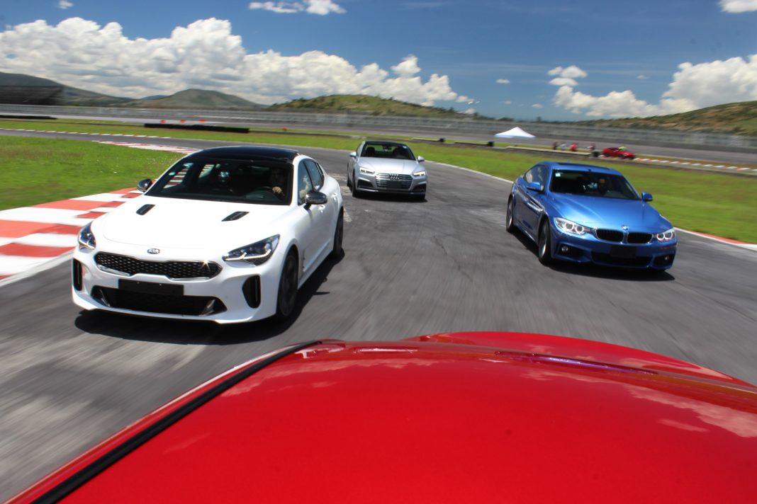 Kia Stinger vs BMW Serie 4, Audi A4 e Infiniti Q50